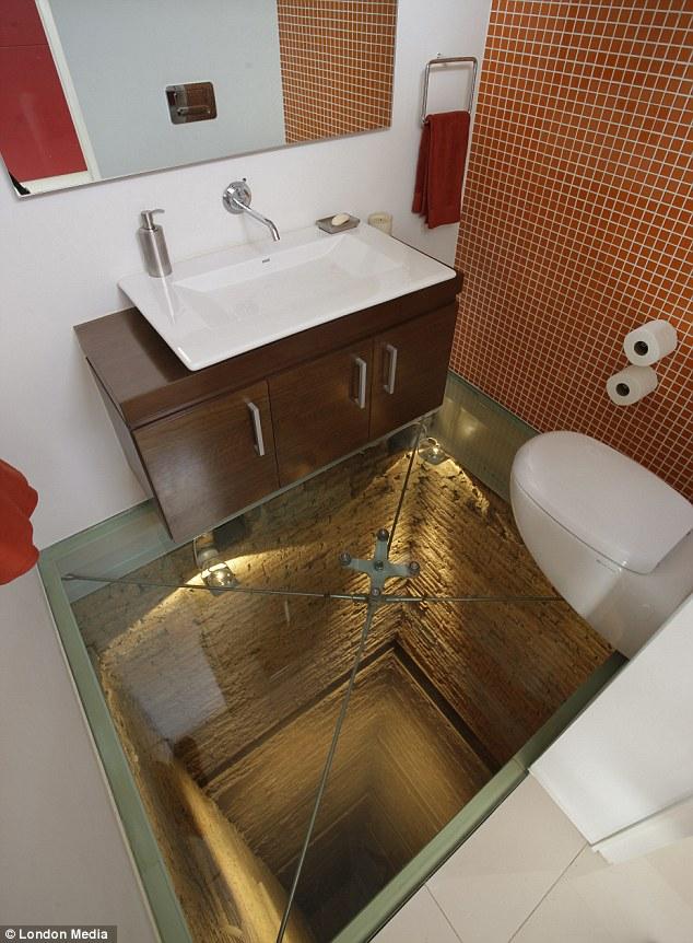 This Bathroom Was Built Over An Old Elevator Shaft - ElPro Elevators ...