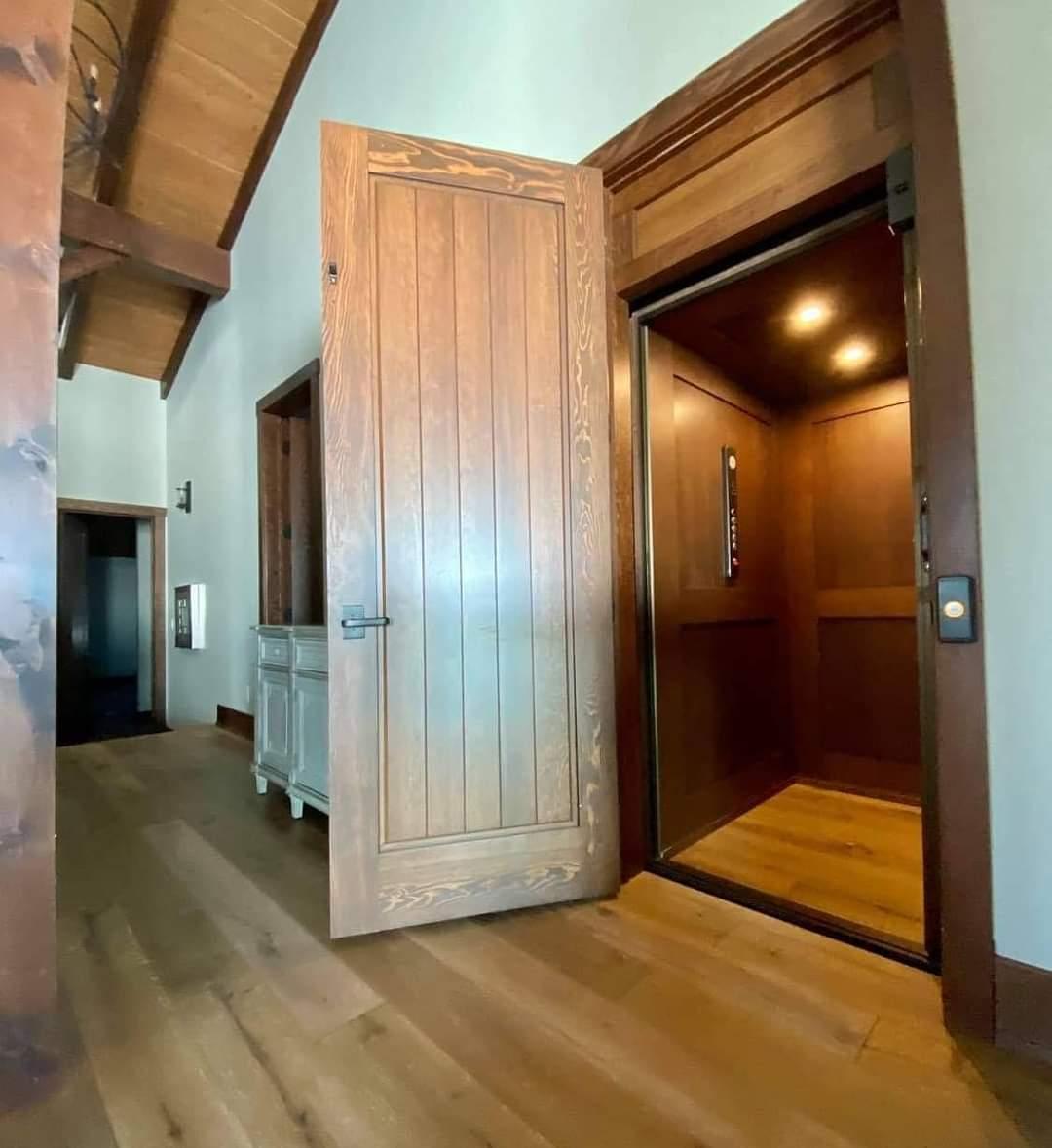 Timberframe Door